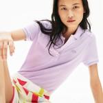 Womens Stretch Cotton Pique Polo