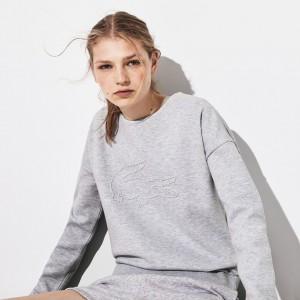 Womens SPORT 3D Croc Fleece Sweatshirt