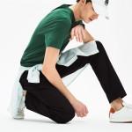 Mens Regular Fit Cotton Gabardine Chino Pants
