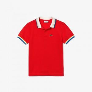Boy's Heritage Cotton Polo