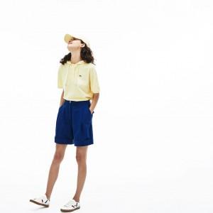 Womens Denim Bermuda Shorts