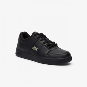 Mens Thrill Leather Sneakers