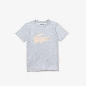 Boys SPORT Tennis Technical Jersey Oversized Croc T-shirt