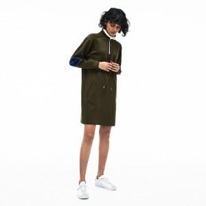 Womens Neoprene Sweatshirt Dress