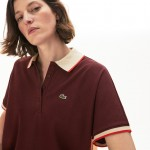 Womens Relaxed Fit Cotton Polo
