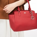 Womens Daily Classic Gusseted Coated Pique Canvas Tote Bag