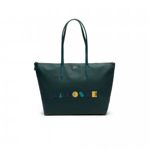 Womens L.12.12 Concept Lettering Large Zip Tote