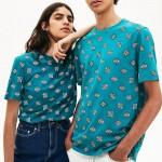 Unisex Lacoste LIVE Crew Neck Cotton T-shirt