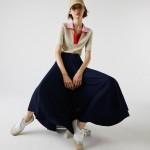 Womens Branded Elasticised Pleated Skirt