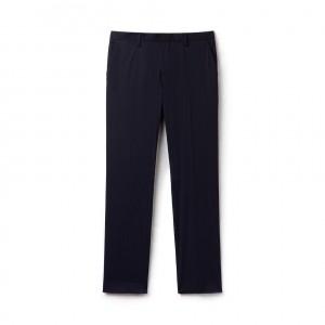 Mens MOTION Regular Fit Pleated Pants