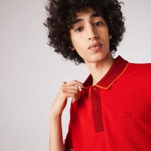 Mens Two-Toned Polo Shirt
