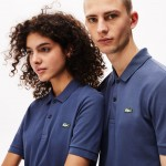 Unisex LIVE Slim Fit Stretch Cotton Pique Polo Shirt