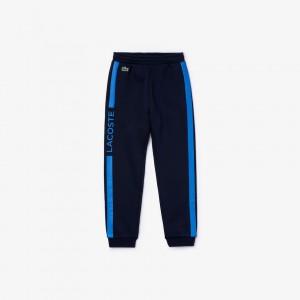 Boys Lacoste SPORT Fleece Tracksuit Pants