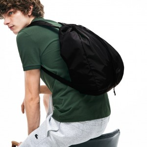 Mens Lacoste Motion Collapsible Backpack Tote Bag