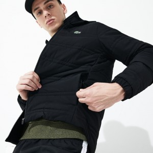 Mens SPORT Packable Water-Resistant Zip Jacket