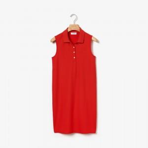 Womens Micro Pique Polo Dress