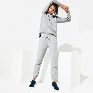 Womens SPORT Signature Waistband Fleece Sweatpants