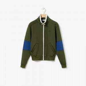 Womens Light Neoprene Zip Sweatshirt
