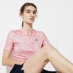 Womens SPORT Stretch Jersey Golf Polo