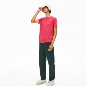Mens Crew Neck Pima Cotton T-Shirt