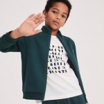 Boys Crew Neck Graphic Lettering Cotton Jersey T-shirt