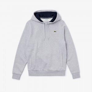 Mens Sport Hooded Fleece Tennis Sweatshirt
