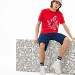 Mens Keith Haring Design Cotton T-shirt