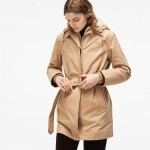 Womens 3-in-1 Detachable Jacket Hooded Cotton Canvas Parka