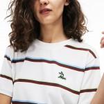 Womens Cotton And Linen Jersey T-shirt