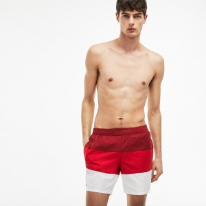 Mens Taffeta Swimming Trunks