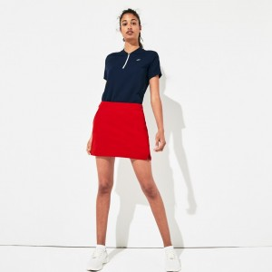 Womens SPORT Built-In Shorts Stretch Golf Skirt