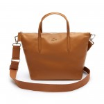 Womens L.12.12 Leather Zip Tote