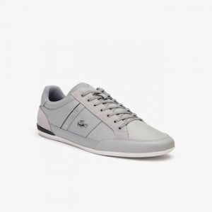 Mens Chaymon Leather Sneakers