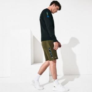 Mens SPORT Camo Logo Fleece Short