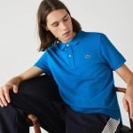 Mens Petit Pique Slim Fit Polo Shirt