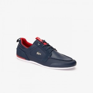 Mens Marina Leather Boat Shoes