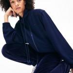 Womens Motion Oversized Twill Zippered Jacket
