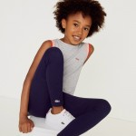 Girls Stretch Cotton Leggings