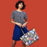 Womens Keith Haring Anna Reversible Tote Bag