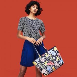 Womens Keith Haring Anna Reversible Tote Bag
