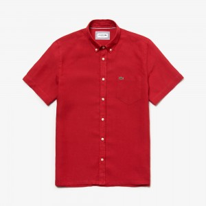 Mens Regular Fit Linen Shirt