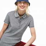 Womens Slim Fit Stretch Polo Shirt