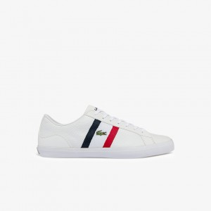 Mens Lerond Tumbled Leather Sneakers