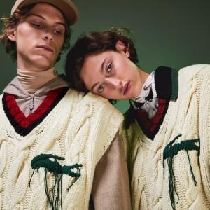 Unisex Fashion Show Oversized Sleeveless Golf Sweater