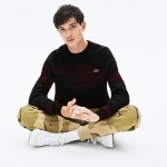 Mens LIVE Camouflage Cashmere And Cotton Jacquard Sweater