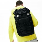 Mens Altitude Drawstring Flap Nylon Backpack
