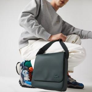 Mens Classic Petit Pique Flap Bag