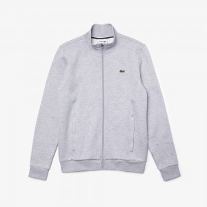 Mens SPORT zip-up fleece sweatshirt