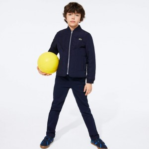 Boys' Full-Zip Puffer Bomber Jacket