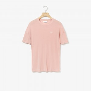 Womens Wide Neck Rayon T-shirt